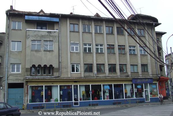 Blocul Socolescu - Fadata actuala dinspre strada Stefan cel Mare