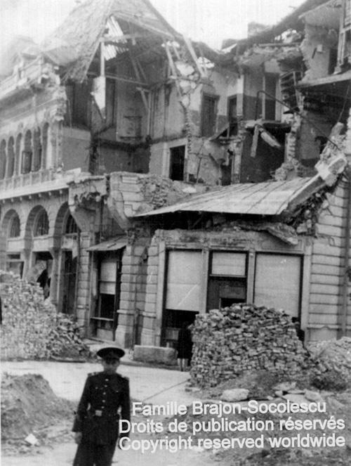 Blocul Socolescu bombardat