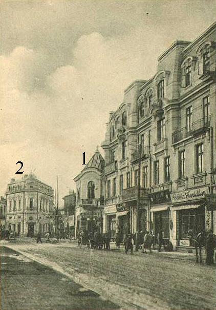 Calea Romana si Hotel Carol