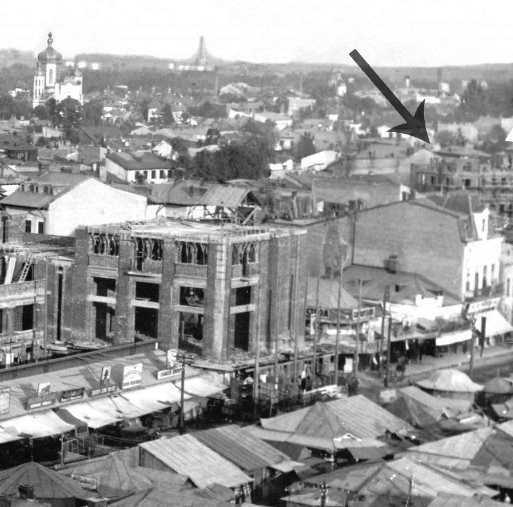 Palatul Telefoanelor in constructie - 1931