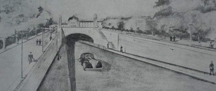 Tunelul subteran de la Gară