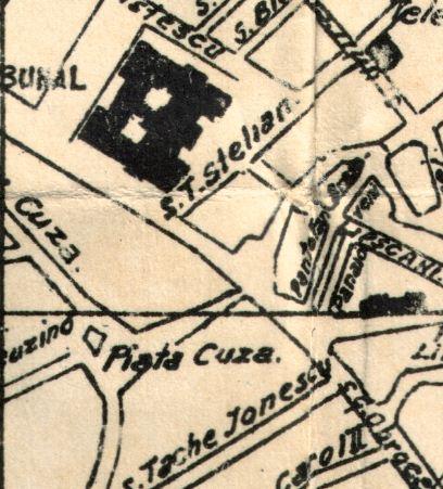 Harta - zona Omnia - 1938
