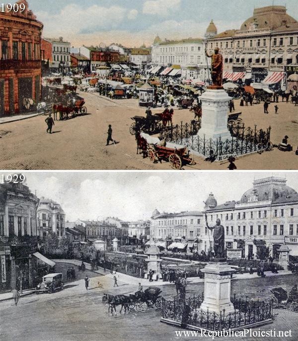 Piata Unirei - 1909 - 1929