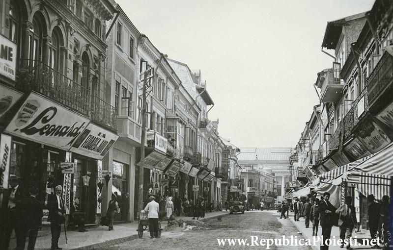 Strada Lipscani - 1931