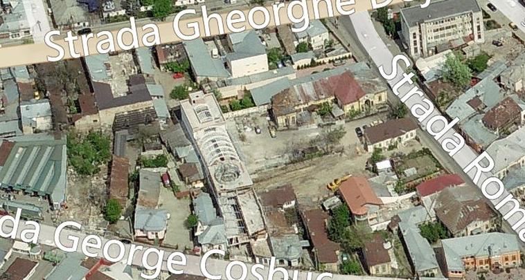 Zona propusa pentru demolare