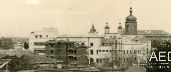 Vedere panoramică din 1941 a unei părți din Ploiești