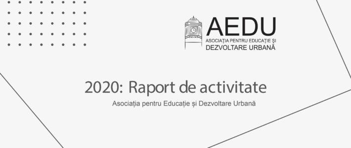 Raport de activitate – 2020
