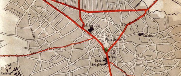 Harta orașului Ploiești – 1939