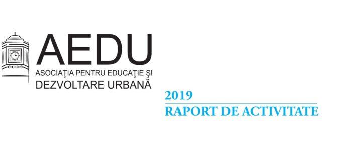 Raport de activitate – 2019