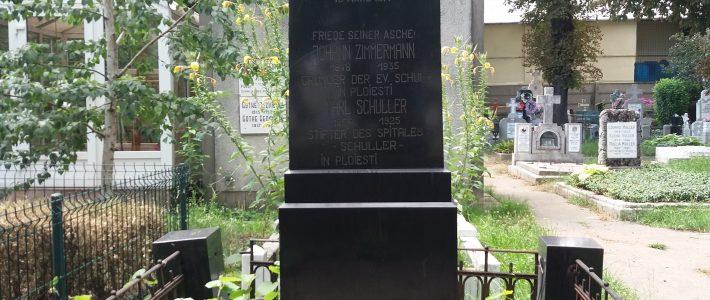 La Bolovani, cimitirul catolic