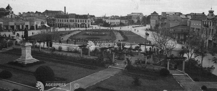 Cum arata centrul orașului Ploiești în 1950